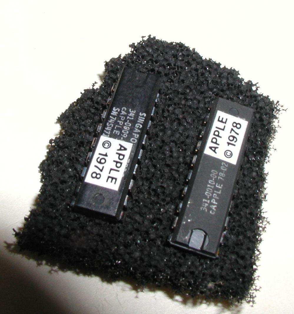 Vintage Computer Photos Subject Apple Appleii A2s1 Rev0 Ic 74ls138 Logic Diagram 32 Chips