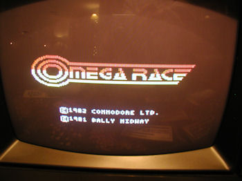 VIC-20 Omega Race Cart