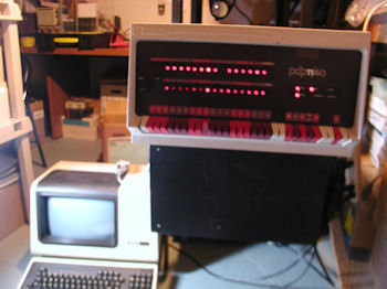 PDP 11/40 with VT-102 terminal