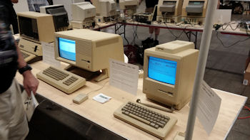 Mid-Atlantic Retro Computing Hobbyists HOPE X Apple Computers Timeline Exhibit
