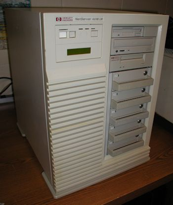 HP Netserver 4d/66 LM With Pentium Upgrade