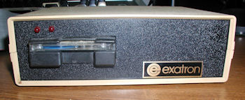 TRS 80 Model III Exatron Stringy Floppy