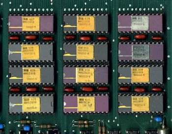 Xerox Alto MM5280D RAM chips 1976