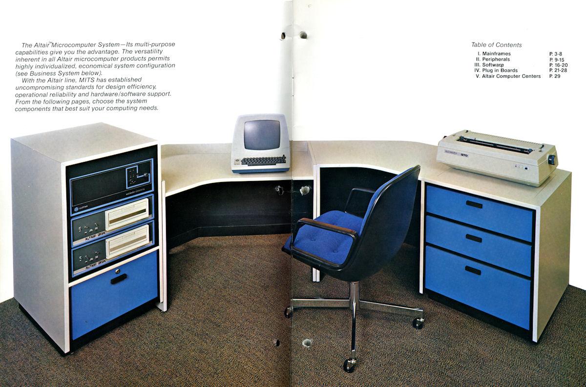 Mits Altair 1977 Brochure