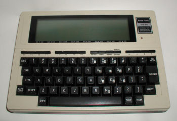 Tandy TRS 80 Model 100